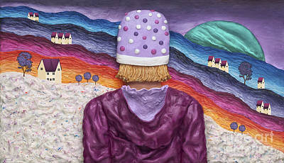 Snowscape Poster by Anne Klar