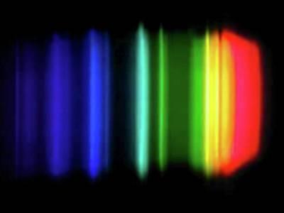 Sodium Emission Spectrum Poster by Carlos Clarivan