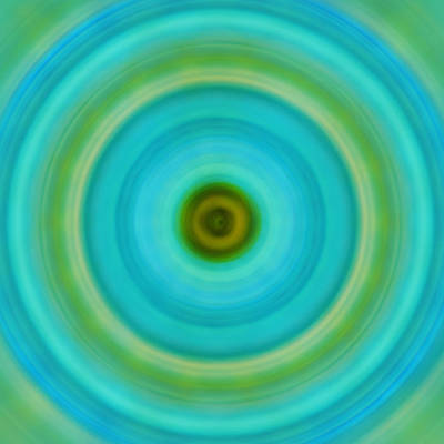 Soft Healing - Energy Art By Sharon Cummings Poster by Sharon Cummings