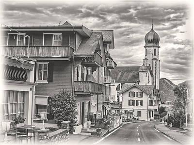 Soft Village Image Poster by Hanny Heim