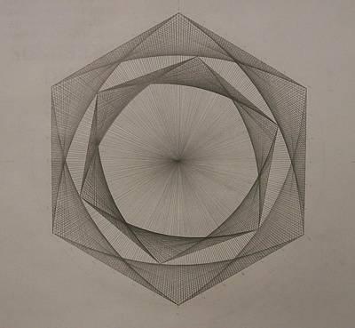 Solar Spiraling Poster by Jason Padgett
