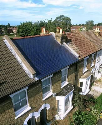 Solar Tiles Poster by Martin Bond