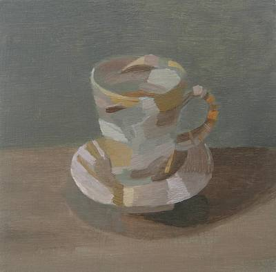 Sombre Cup Poster by Mary Mabbutt
