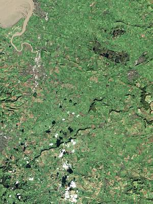 Somerset Levels Poster by Nasa