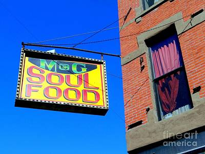 Soul Food Poster by Ed Weidman