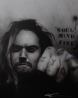 Max Calavera - 'soul Mind Fist' Poster by Christian Chapman Art