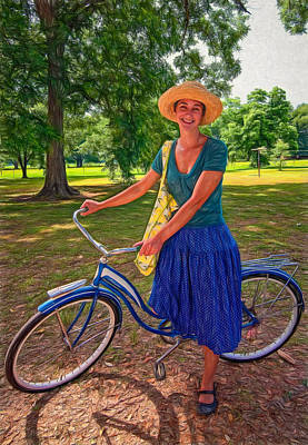 Southern Belle - Paint Poster by Steve Harrington