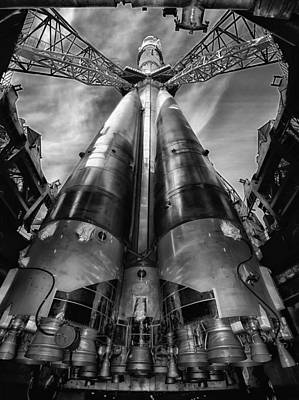 Soyouz Launch Pad Poster by Mountain Dreams