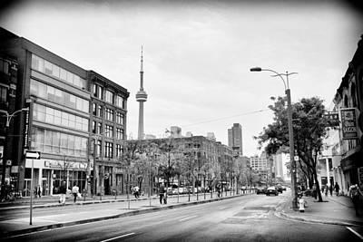 Spadina Avenue In Toronto Poster by Tanya Harrison