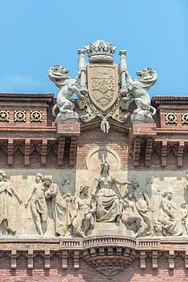 Spain, Barcelona, Arc De Triomf (large Poster by Jim Engelbrecht