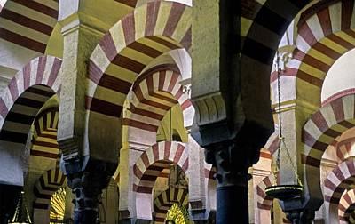 Spain. Cordoba. Mezquita Mosque Poster by Everett