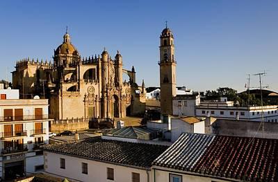 Spain. Jerez De La Frontera. Cathedral Poster by Everett