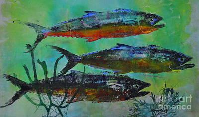 Spanish Mackerel Poster by Brenda Alcorn