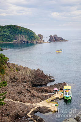 Spectacular Rugged Japanese Coastline - The Noto Peninsula - Ishikawa Prefecture - Japan Poster by David Hill