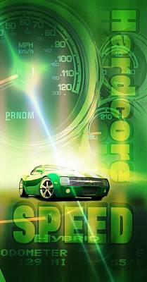 Speed Poster by Pierre Chamblin