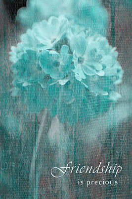 Sphere Floral - Gr13tq - Frienship Poster by Variance Collections