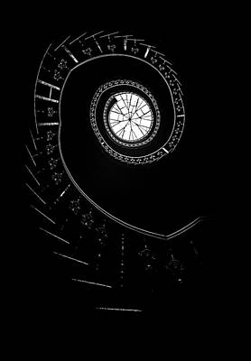 Spirals In The Dark Poster by Jaroslaw Blaminsky