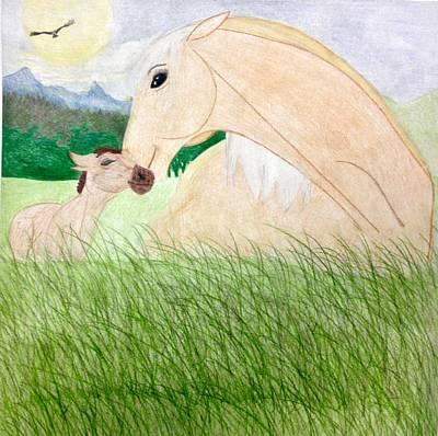 Spirit And Esperanza Poster by Eleni Pessemier