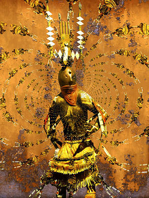 Spirit Dance Poster by Kurt Van Wagner
