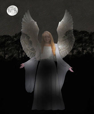 Spiritual Angel Poster by Eric Kempson