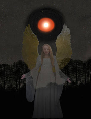 Spiritual Light Poster by Eric Kempson