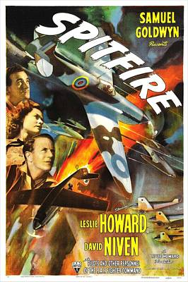 Spitfire, Aka The First Of The Few, Us Poster by Everett