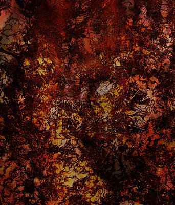 Splattered  Poster by James Barnes