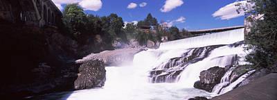 Spokane Falls At Spokane River Poster by Panoramic Images