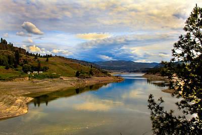 Spokane River Poster by Robert Bales