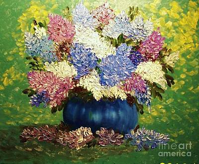 Spring Blossoms Poster by Peggy Miller