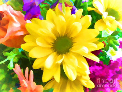 Spring Bouquet Poster by Luther   Fine Art