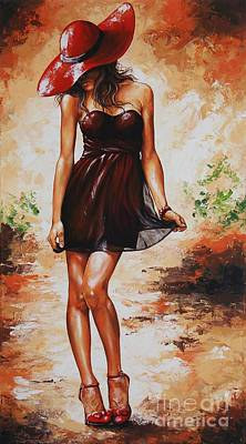 Spring Breeze 04 Poster by Emerico Imre Toth