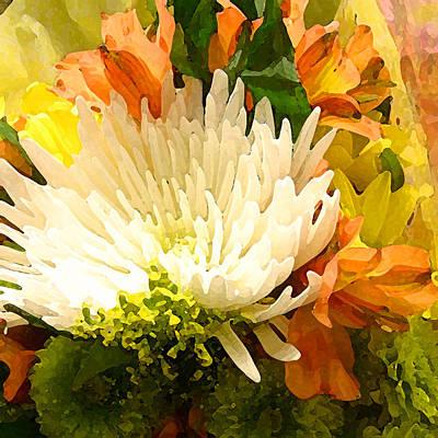 Spring Flower Burst Poster by Amy Vangsgard