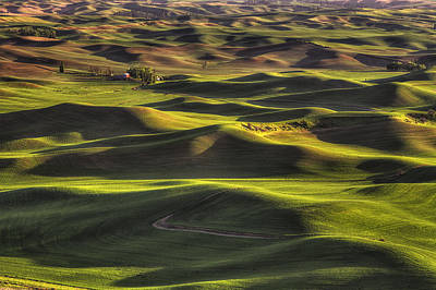 Spring On The Palouse Poster by Mark Kiver