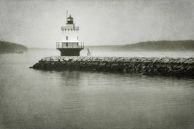 Spring Point Ledge Light Poster by Joan Carroll