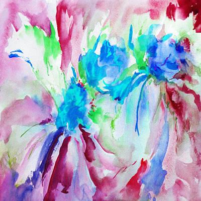 Spring Returns - Abstract Poster by Georgiana Romanovna