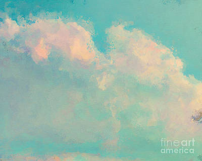 Spring Sky Poster by Lonnie Christopher