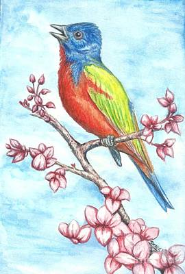 Spring Song Poster by Sue Bonnar