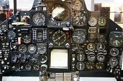 Sr-71 Blackbird Control Panel. Poster by Mark Williamson
