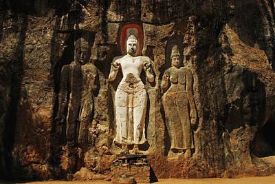 Sri Lanka, Ella, Dhowa Rock Temple Poster by Stephanie Rabemiafara