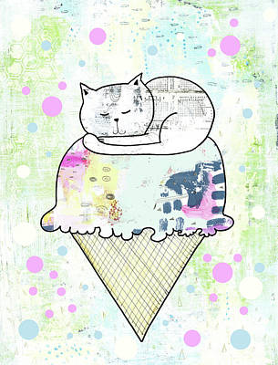 Ssprinkles On Top Poster by Sarah Ogren