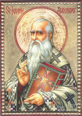 St. Alexander Poster by Zorina Baldescu