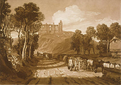 St Catherines Hill Near Guildford Poster by Joseph Mallord William Turner