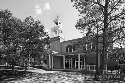 St. John's College Santa Fe Weigle Hall Poster by University Icons