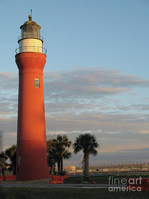 St. Johns River Lighthouse II Poster by Christiane Schulze Art And Photography