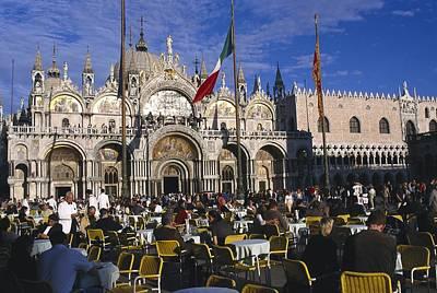 St. Marks Basilica. Italy. Veneto Poster by Everett