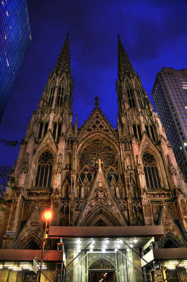 St. Patrick's Cathedral Poster by Randy Aveille