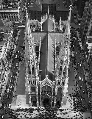 St. Patrick's Cathedral Poster by Underwood Archives