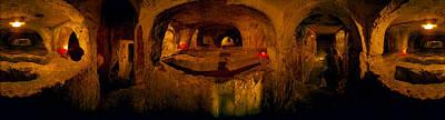 St. Pauls Catacombs, Rabat, Malta Poster by Panoramic Images