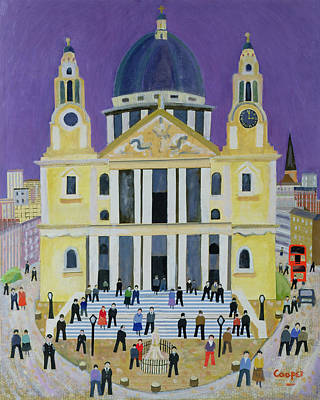 St Pauls Poster by William Cooper